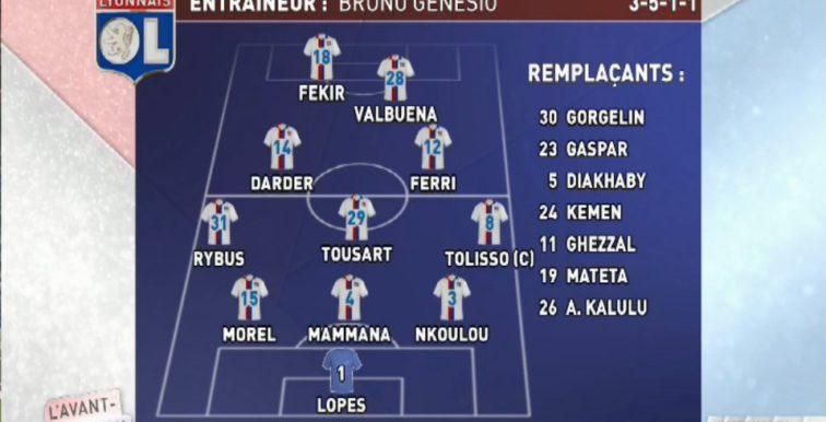 Ligue 1 : Ghezzal remplaçant contre l'ASSE