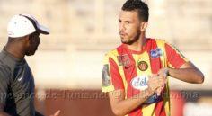 ES Tunis : trois semaines d'indisponibilité pour Belkaroui