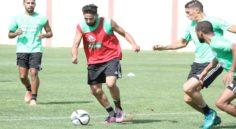 EN : avant-dernier entrainement à Sidi Moussa