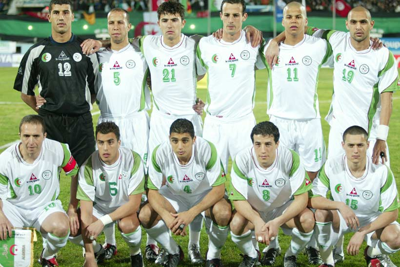 Algerie CAN 2004