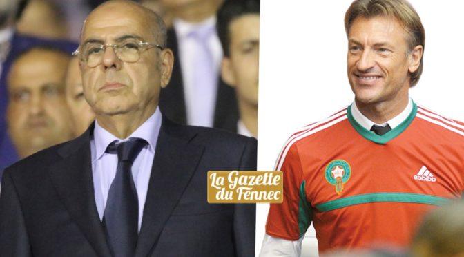 FAF : Raouraoua dézingue Hervé Renard et le traite de menteur
