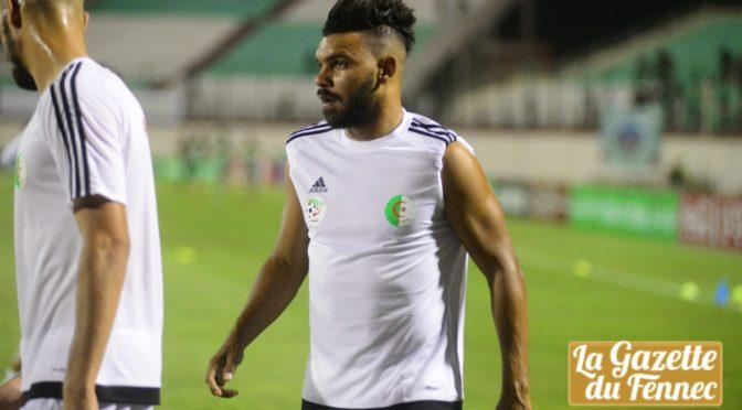 EN : Hilal Soudani s'entraîne avec l'ASO Chlef