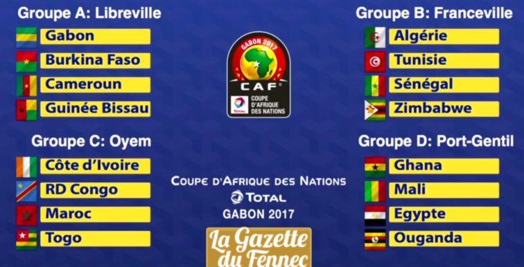 CAN 2017 au Gabon : la CAF persiste et signe !