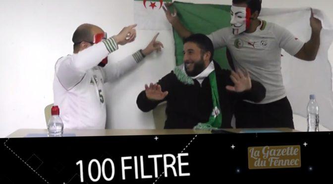 Émission Web : «100 filtre», spéciale match Nigéria – Algérie