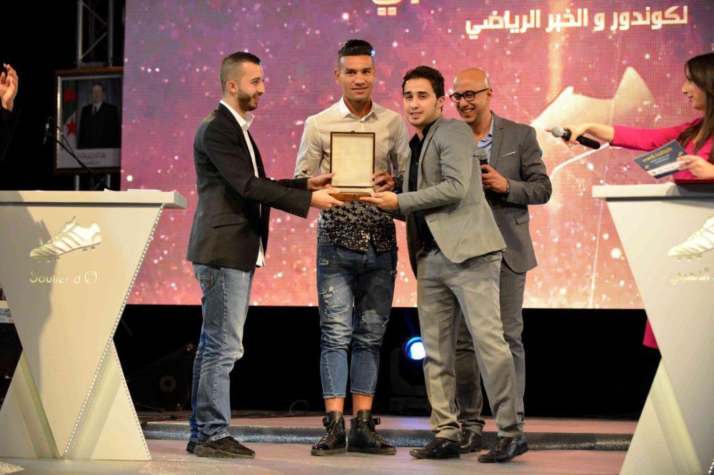 ?Soulier d'Or 2016 : Le Lybien Zaâbia honoré par Domenech à Constantine