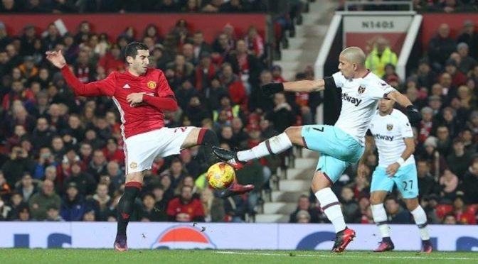 Manchester United s'offre West Ham, Feghouli joue 90 min