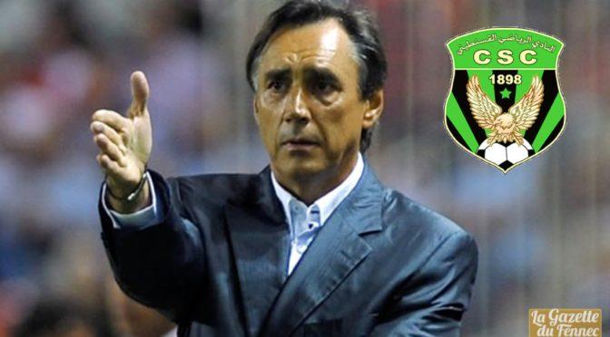 CS Constantine: l'Espagnol Vicario nouveau coach