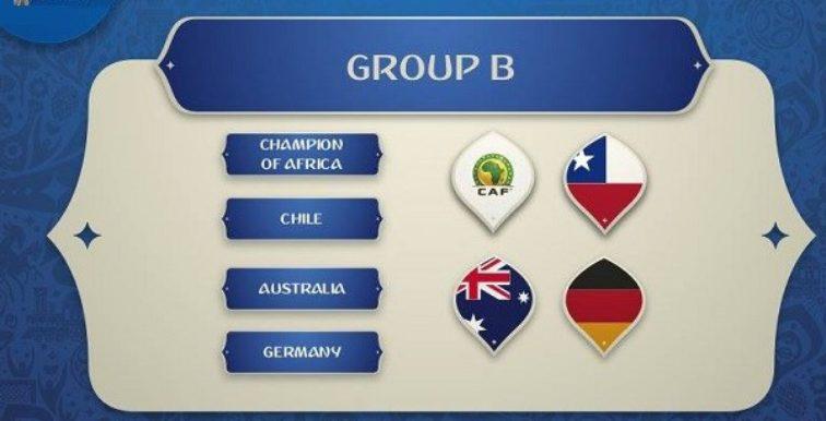 Coupe des Confédérations 2017 : le groupe du champion d'Afrique