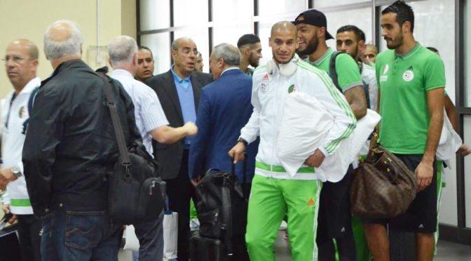 NIG-ALG: Les Verts sont arrivés à Uyo