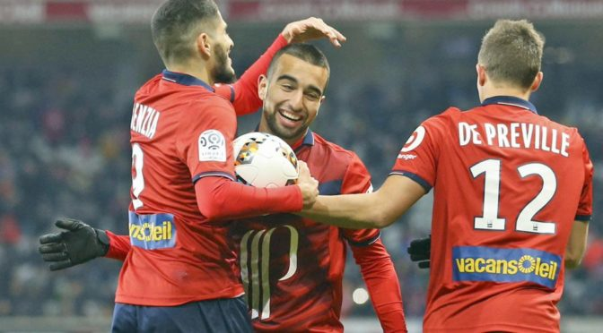 Lille : Benzia titulaire et passeur décisif face à Caen