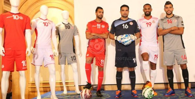 Tunisie : la FTF dévoile le nouveau maillot pour la CAN