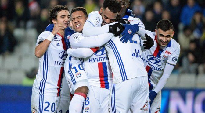 Lyon atomise Nantes (6-0) avec un Ghezzal en feu!
