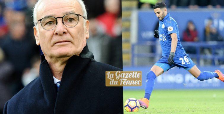 Ranieri : «J'attends une réaction de Mahrez !»