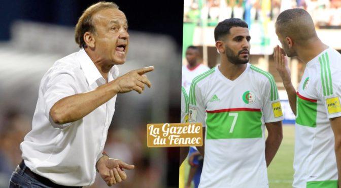 Gernot Rohr (Nigéria) : «Nous avons su contenir Mahrez et Slimani»