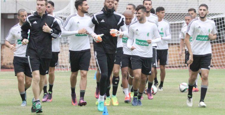 NIG-ALG : L'Algérie jouera en blanc !