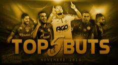 Top 5 Buts – Novembre 2016: Le superbe coup-franc de Mehdi Abeïd