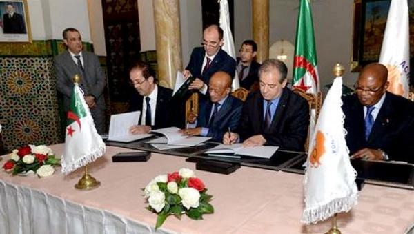 Jeux africains de la jeunesse 2018 : Signature de l'accord d'organisation à Alger
