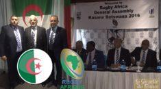 Historique : l'Algérie intègre «officiellement» Rugby Afrique !
