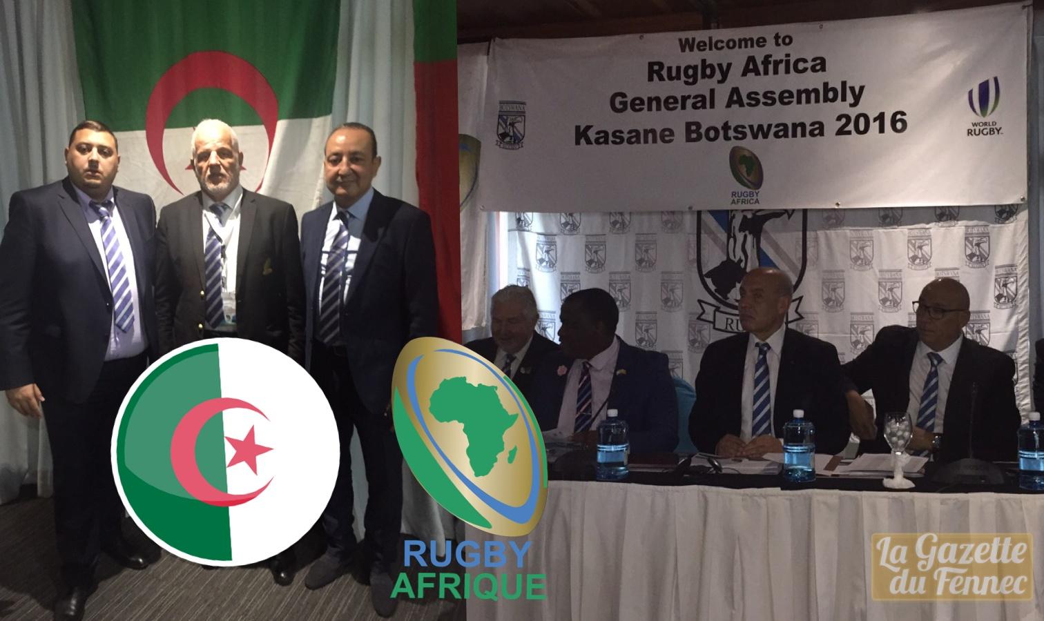 La jeune Fédération algérienne de rugby officiellement admise au sein de la Fédération africaine