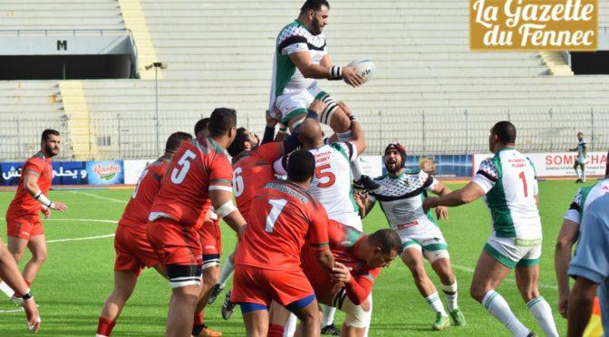 «Tri nations» de rugby : courte défaite de l'Algérie face au Maroc (11-12)