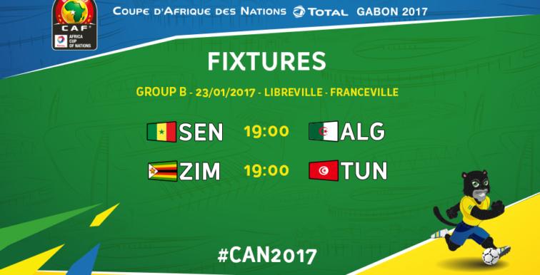 CAN 2017 : le programme du jour