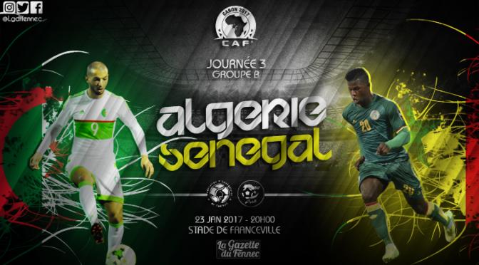 Sénégal 2-2 Algérie : live commentaire !