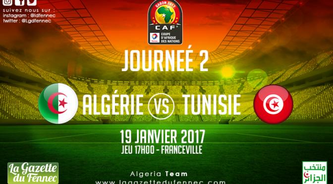 Algérie-Tunisie : suivez le match en live commentaire ! !