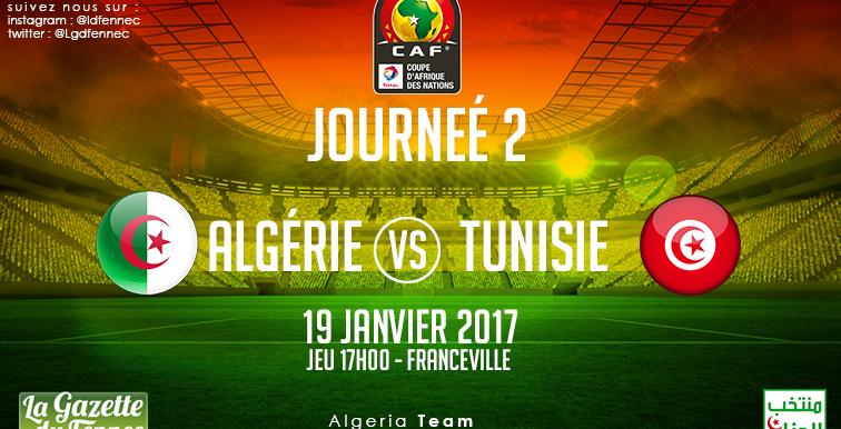 ALG-TUN : l'Algérie évoluera en blanc
