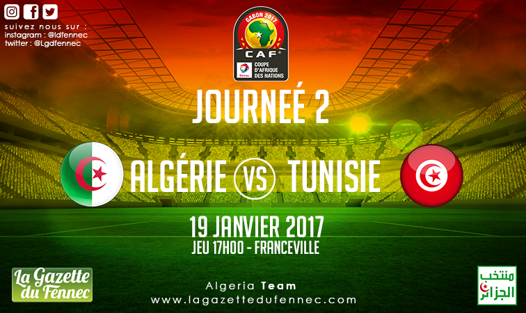 affiche Tunisie CAN 2017