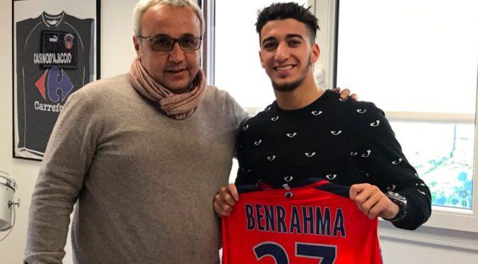 OGC Nice : Benrahma prêté au GFC Ajaccio