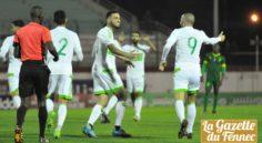 Amical : l'Algérie s'impose 3-1 face à la Mauritanie