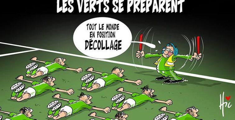 Humour : les Verts se préparent pour le décollage