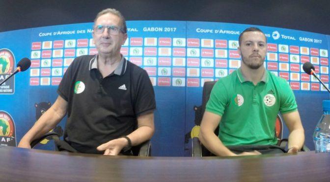 Leekens : « On va jouer pour notre honneur et celui de l'Algérie »