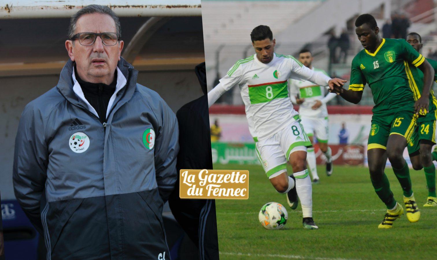 CAN 2017 : l'Algérie bat la Mauritanie, 3-1, en match amical
