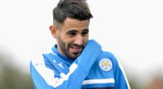 Leicester : Mahrez opérationnel contre Derby