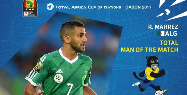 ALG-ZIM (2-2) : Mahrez désigné homme du match