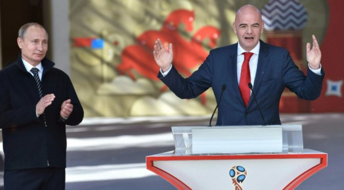 Mondial 2018 : 400 millions de dollars partagés entre les 32 sélections qualifiées