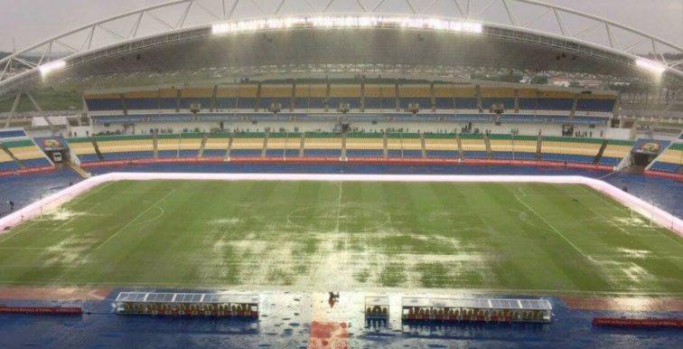 CAN 2017 : fortes pluies au stade, risque de report ?
