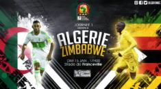 CAN 2017, Algérie-Zimbabwe : faire le plein de confiance et de points !