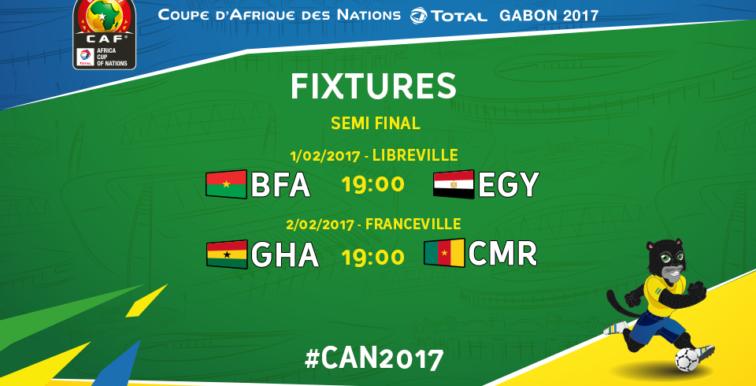 CAN 2017 : Egypte-Burkina Faso à suivre ce soir