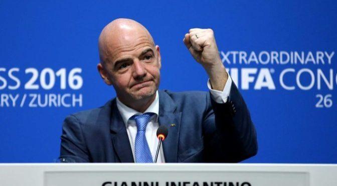 Infantino: La FIFA promet de promouvoir le football africain