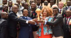 Cameroun : Les Lions Indomptables reçus par le Président Paul Biya