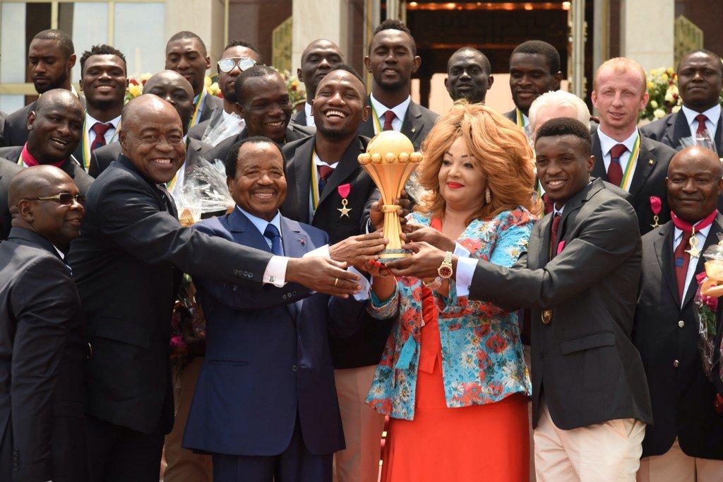 Cameroun Biya cérémonie Lions