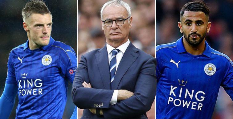 Ranieri : «J'ai parlé avec Mahrez et Vardy en tête à tête»