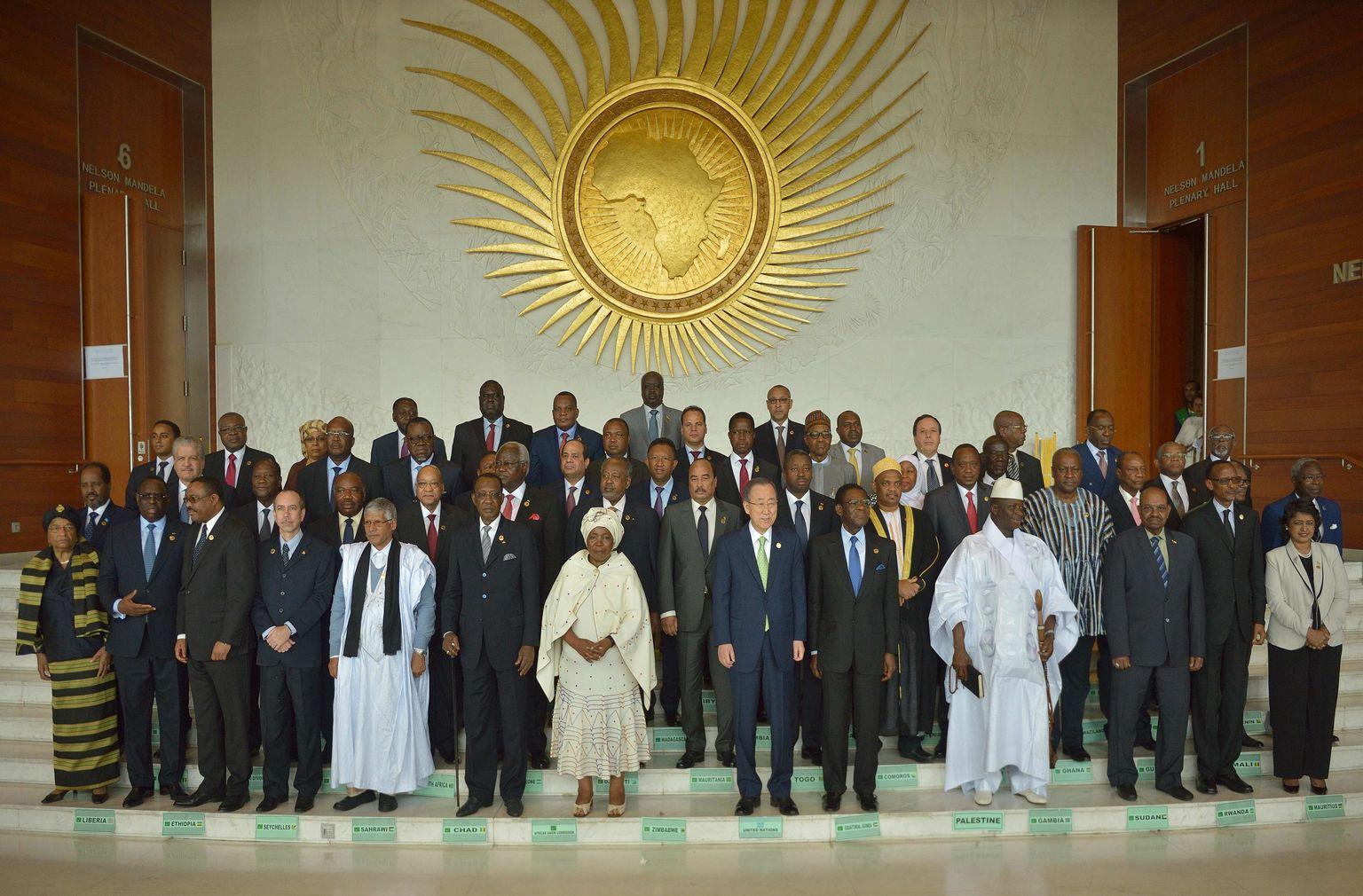 Union Africaine UA_les-dirigeants-africains-