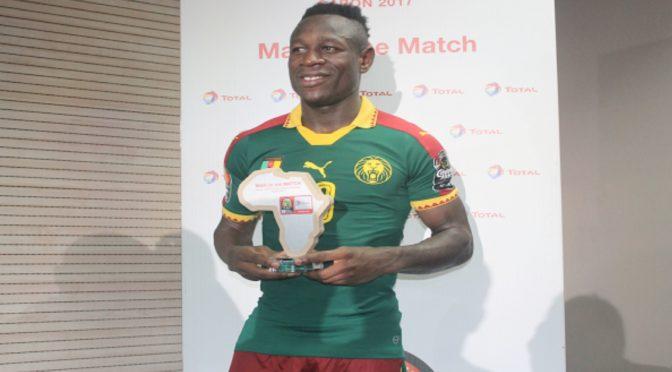 CAN 2017 : le Camerounais Bassogog désigné meilleur joueur du tournoi