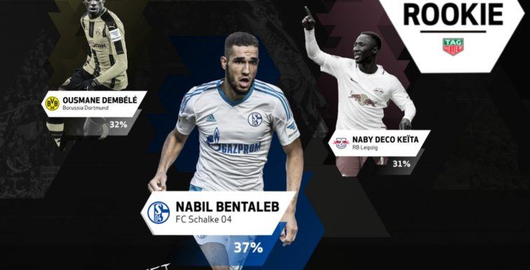 Bundesliga : Bentaleb remporte le Rookie Award !