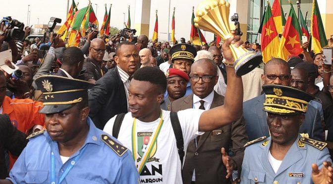 Cameroun : accueil triomphal pour les Lions Indomptables à Yaoundé !