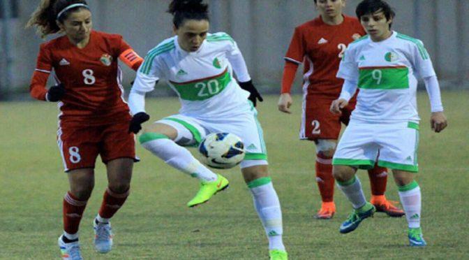 EN Féminine : l'Algérie bat la Jordanie (3-2) en match amical