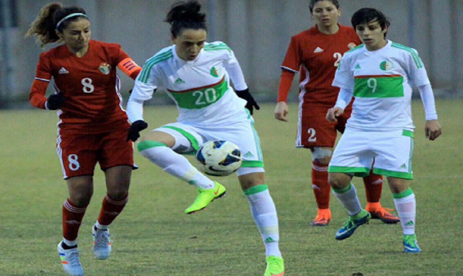 en feminine amical jordanie action